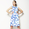 Blue and White Floral (Dress)