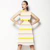 Banana Pink Strip (Dress)