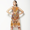 Abstract With Paisley (Dress)
