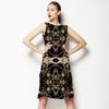 Victorian Dark Decorative Seamless Pattern (Dress)