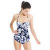 Stippled and Bleached-Out Floral Camo (Swimsuit)