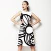 Stylized Macro Blossoms Seamless Pattern. (Dress)