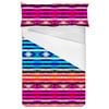 Colorful Ethnic Striped Pattern (Bed)