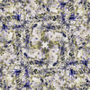 Seamless Vintage Abstract Inspired Floral Textile (Original)