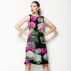 Dark Rose Blooms (Dress)