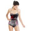 Dark Rose Patchwork (Swimsuit)