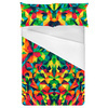 Bright Abstract Multicolored Pattern (Bed)