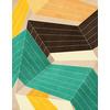 Abstract Digital Geometric Pattern (Original)