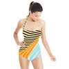 Abstract Digital Dynamic Pattern (Swimsuit)