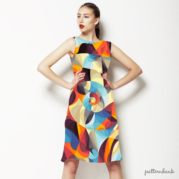 Bright Texture Digital Pattern