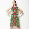 Tropical Colors and Ethnic Pattern 1 (Dress)