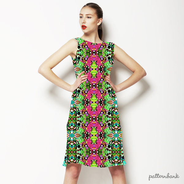 Tropical Colors and Ethnic Pattern 1