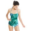 Palm Tree Leaf Texture (Swimsuit)