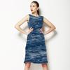 Indigo Texture (Dress)