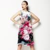Vintage Roses on Grunge Background (Dress)