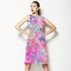 Bright Painterly Floral (Dress)