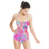 Bright Painterly Floral (Swimsuit)