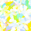 Floral Pattern in Bright Colors (Original)