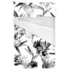 Black and White Tropic Design (Bed)