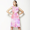 Blurred Watercolour Floral (Dress)