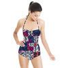 Ditsy Floral Linocut (Swimsuit)
