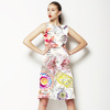 Floral Abstract1 (Dress)