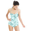 Sketched Leaves (Swimsuit)