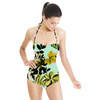 Botanical Garden Leaves (Swimsuit)