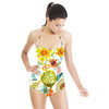 Bohemian Painted Blossoms (Swimsuit)