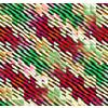 Blocking Color and Stripes No2 Modern Christmas Stripes Pattern Background (Original)