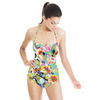 Bohemian Spring Summer Blooms Floral (Swimsuit)