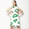 Green Leopard Spots (Dress)