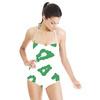 Green Leopard Spots (Swimsuit)