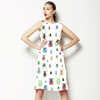 Colourful Insect/beetles Pattern (Dress)