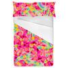 Bohemian Skin Mosaic Fragmented Pink (Bed)