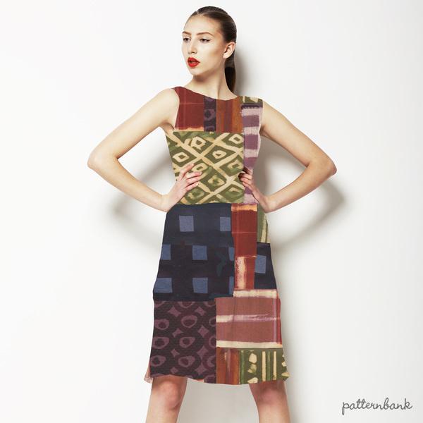 African Batik Patch
