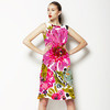 SS 2017 Painted Florals Bohemian Pink (Dress)