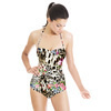 Leopard Skins With Flower 1636 (Swimsuit)