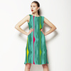 Multi-Colored Funky Graphic Stripes (Dress)