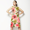 SS 2017 Painterly Florals Roses (Dress)