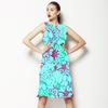 Tropical Garden Blue (Dress)