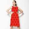Oriental Style Geometric Print (Dress)
