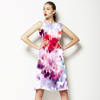 Blurred Watercolor Bloom (Dress)