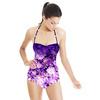Floral Border Print (Swimsuit)