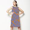 Orange & Blue (Dress)