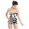 Geometric Pattern in Different Shapes (Swimsuit)