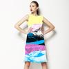 Hyper Colour Collage Placement (Dress)