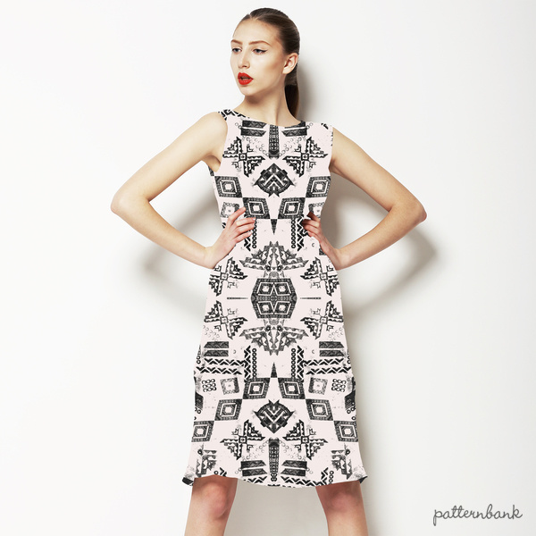 Tribal Pattern in Black