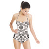 Tribal Pattern in Black (Swimsuit)