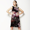 Dark Photographic Floral (Dress)